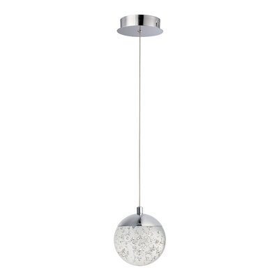 Sensabaugh 1-Light LED Mini Pendant