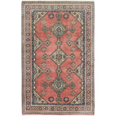 One-of-a-Kind Westendorf Ghashghai Hand-Woven Wool Dusty Rose Area Rug