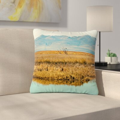 Sylvia Coomes Reflective Landscape Outdoor Throw Pillow Size: 18 H x 18 W x 5 D