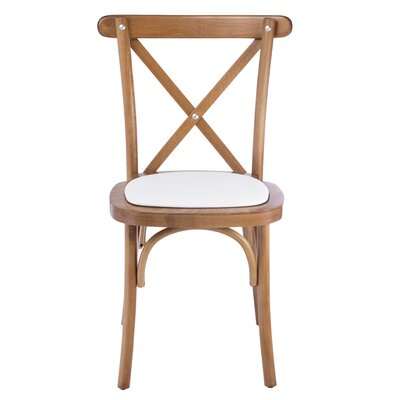 Gambrel Upholstered Dining Chair