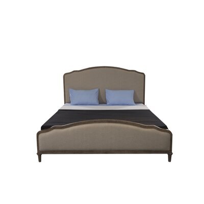 Montreal Upholstered Panel Bed Size: King