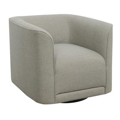 Seibert Swivel Barrel Chair Finish: Gray