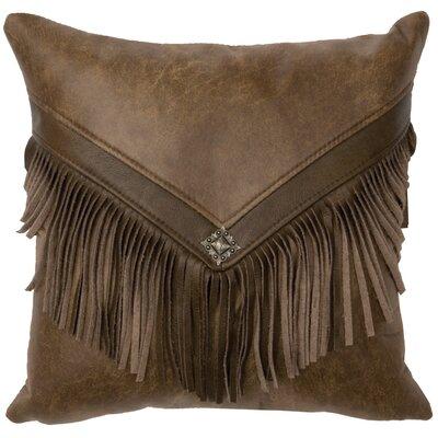 Tynan Leather Throw Pillow