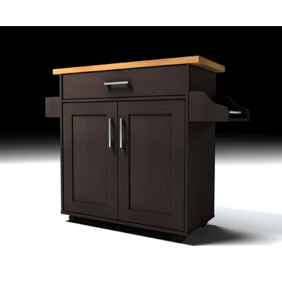 Aaronsburg Kitchen Island Base Finish: Black-Beech