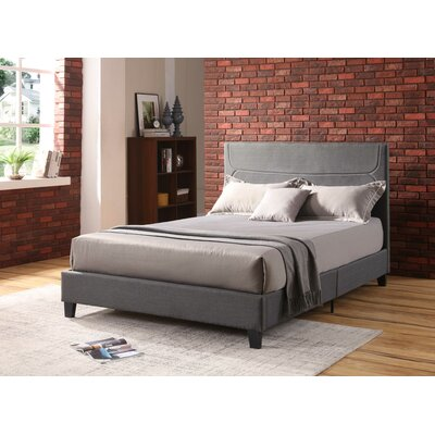 Gipe Upholstered Platform Bed Size: Full