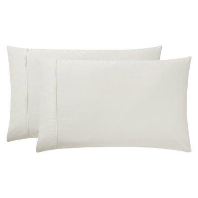 Sullivan Pillow Case Size: King, Color: Ecru
