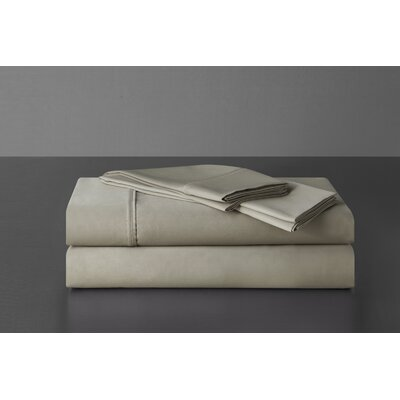 Sullivan 400 Thread Count 100% Cotton Sheet Set Size: California King, Color: Taupe