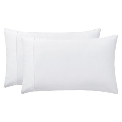 Sullivan Pillow Case Size: King, Color: White