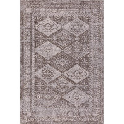 Starlight Geometric Brown Indoor/Outdoor Area Rug Rug Size: Rectangle 79 x 102