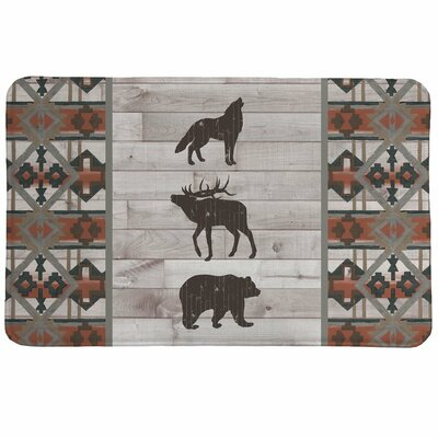 Stalder Southwest Lodge Bath Rug