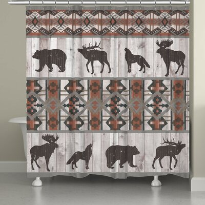 Stalder Southwest Lodge Shower Curtain