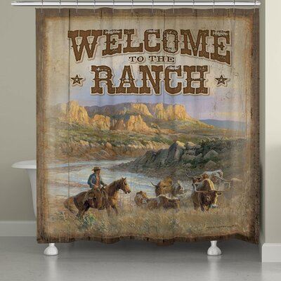 Stallman Canyon Ranch Shower Curtain