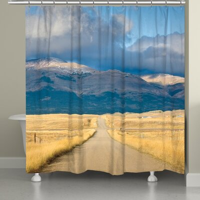 Crossroads in Color Shower Curtain