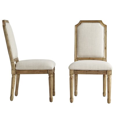 Lachance Arched Upholstered Dining Chair Upholstery Color: Beige