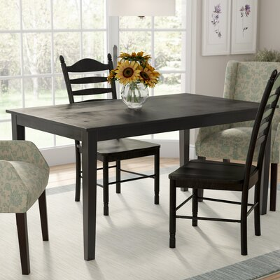 Oneill Dining Table Color: Black