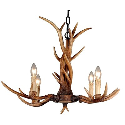 Purington 6-Light Candle-Style Chandelier