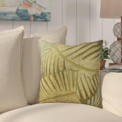 Geri Palm Leaf Indoor/Outdoor Throw Pillow