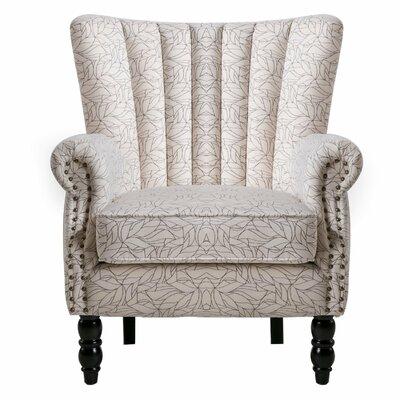 Felten Wingback Chair Finish: Beige