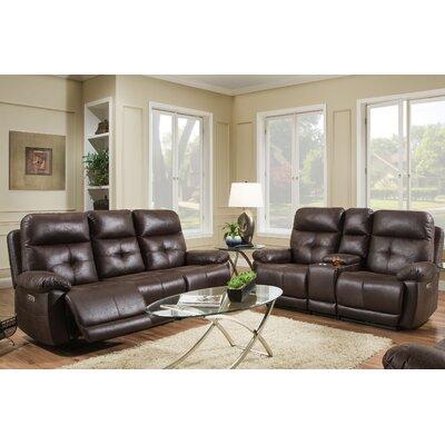 Dillinger 2 Piece Living Room Set