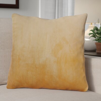 Eason Supersoft Shell Pillow Cover Color: Amphora