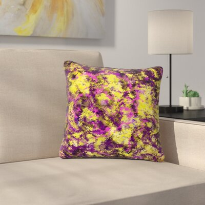Cyndi Steen Cinderella Abstract Outdoor Throw Pillow Size: 16 H x 16 W x 5 D
