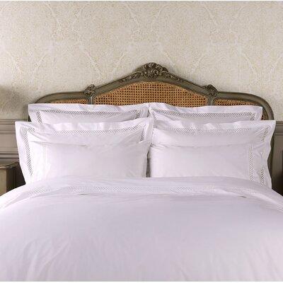 Suismon Pillow Case Color: White, Size: Standard