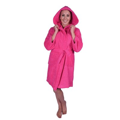 Teenager Petite Bathrobe Color: Hot Pink