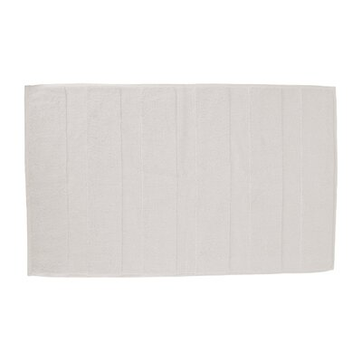 Pettitt Loop Terry Cotton Bath Rug Color: Beige