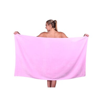 Beach Towel Color: Pink