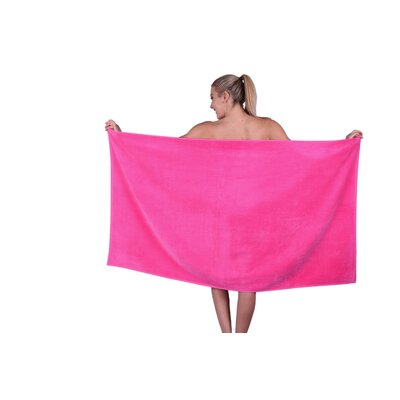 Beach Towel Color: Hot Pink