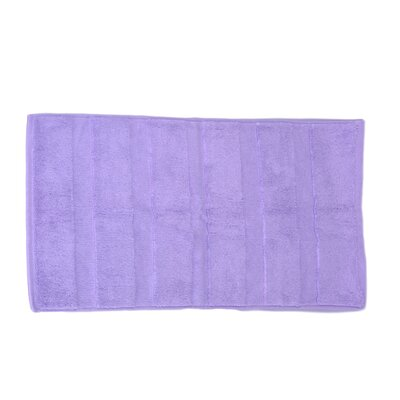 Pettitt Loop Terry Cotton Bath Rug Color: Lavender