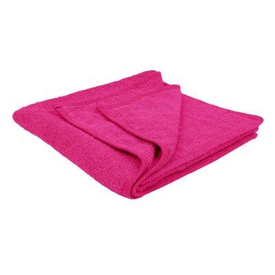 Solid Soft Cotton Bath Sheet Color: Hot Pink