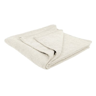 Solid Soft Cotton Bath Sheet Color: Beige