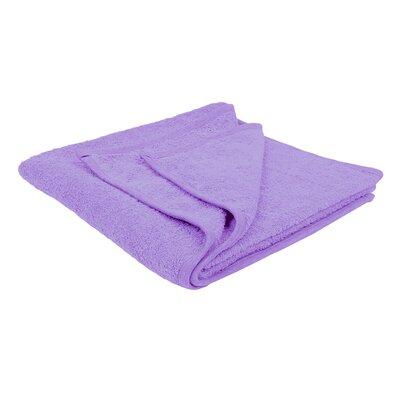 Solid Soft Cotton Bath Sheet Color: Lavender