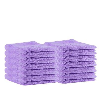 Premium Cotton Wash Cloth Color: Lavender