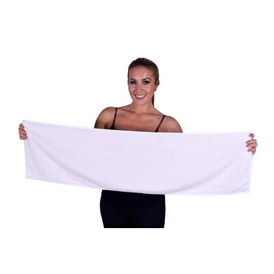 Solid Premium Gym/Fitness Towel Color: Beige