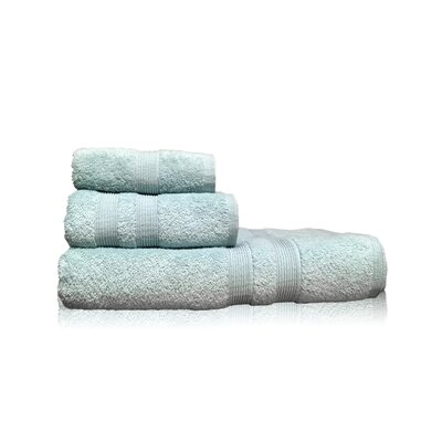 Luxury 3 Piece Towel Set Color: Blue
