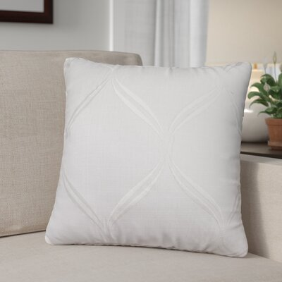 Pruitt Throw Pillow Color: White