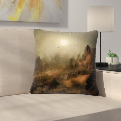 Viviana Gonzalez Calling the Sun Outdoor Throw Pillow Size: 18 H x 18 W x 5 D