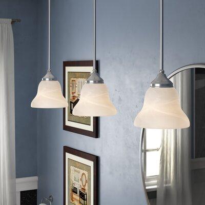Sparland 1-Light Glass Shade Mini Pendant Bulb Type: 100W A19 Medium