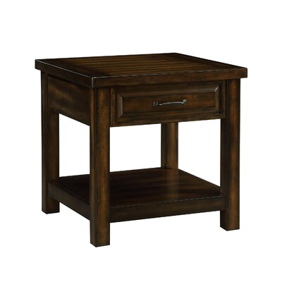 Digennaro End Table With Storage