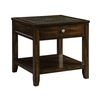 Diggins End Table With Storage E81017D391B44B238A36795EAA50160C