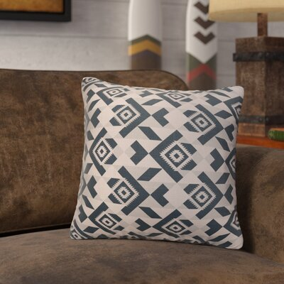 Levey Throw Pillow Size: 18 x 18, Color: Black, Gray, Tan