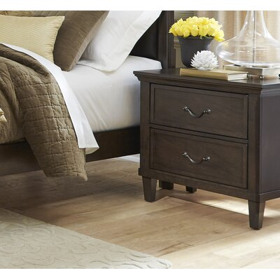 Holderman 2 Drawer Nightstand