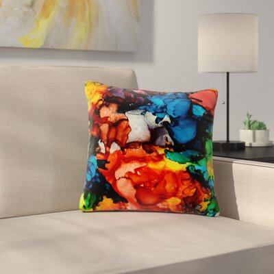 Claire Day Fun Loving Outdoor Throw Pillow Size: 18 H x 18 W x 5 D