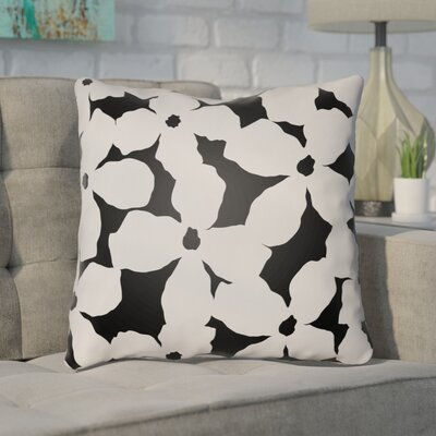 Gibson Throw Pillow Size: 22 H �x 22 W x 5 D, Color: Grey/Black