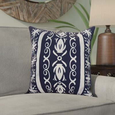 Casto Tile Throw Pillow Color: Purple, Size: 26 x 26
