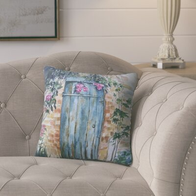 16 Anya Wood Door Throw Pillow