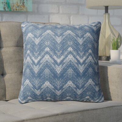 Marshall Blue Throw Pillow Size: 26 H x 26 W x 6 D