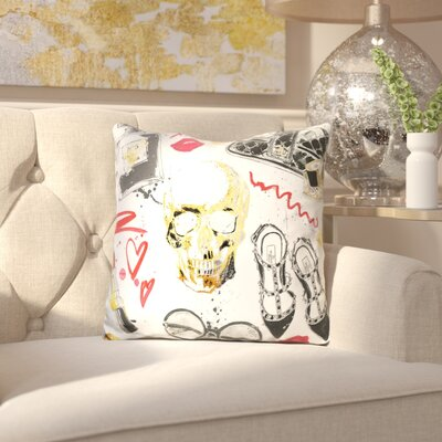 Doline Fashion Victim Throw Pillow